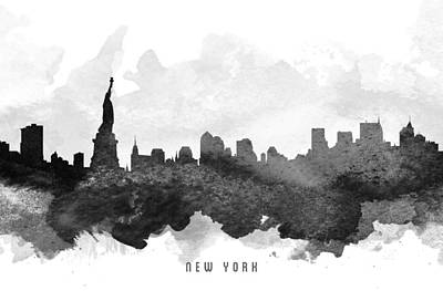 Cities Digital Art - New York Cityscape 11 by Aged Pixel