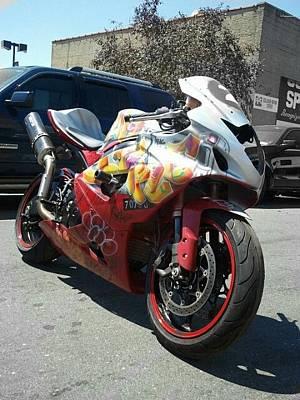 Apollo Theater Mixed Media - New York Custom Bike by Mark  Lawrence