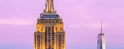 New York Skyline Photograph - New York Giants by Az Jackson