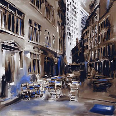 Urban Subway Painting - New York II 466 IIi by Mawra Tahreem