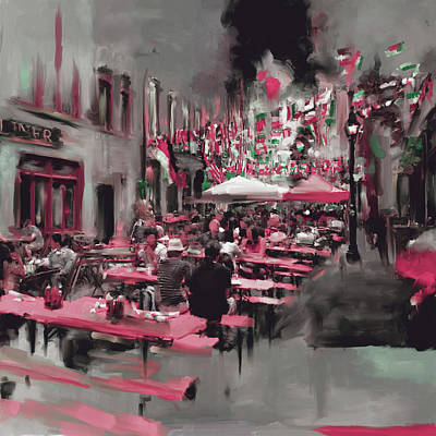 Urban Subway Painting - New York IIi 467 II by Mawra Tahreem