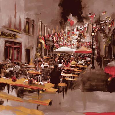 Urban Subway Painting - New York IIi 467 IIi by Mawra Tahreem