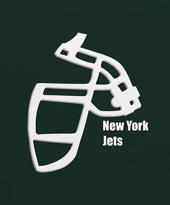 New York Jets Retro Print by Joe Hamilton