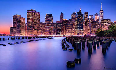 River Scenes Photograph - New York New York by Marvin Spates