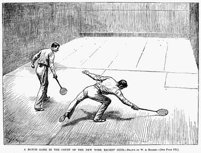 New York: Racket Club Print by Granger