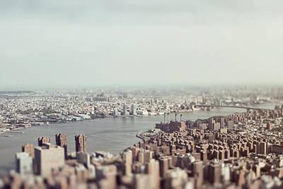 Miniature Nyc Photograph - New York River by Daniel  Santo