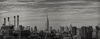 New York Skyline Print by Robert Ullmann