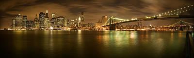 New York Skyline Print by Shubhra Pandit