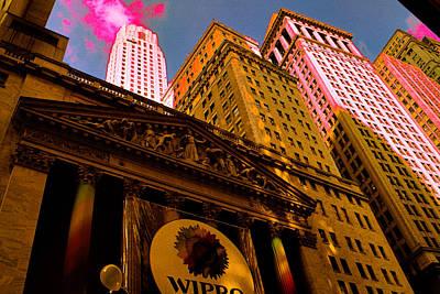 Fine Art Digital Art - New York Stock Exchange - Pop Art by Art America Online Gallery
