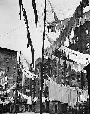 Tenement Photograph - New York: Tenement, 1936 by Granger