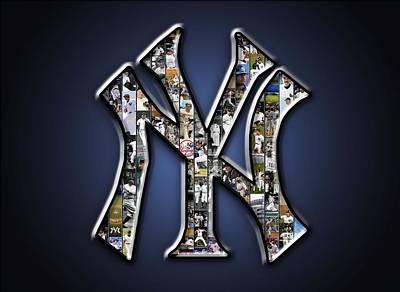New York Yankees Print by Fairchild Art Studio