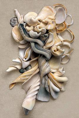 New Zealand Opus 01 Print by Carol Zee