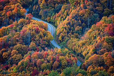 Great Smoky Mountain National Park Photograph - Newfound Gap by Rick Berk