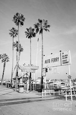 Newport Beach Ferry Entrance Photo Print by Paul Velgos