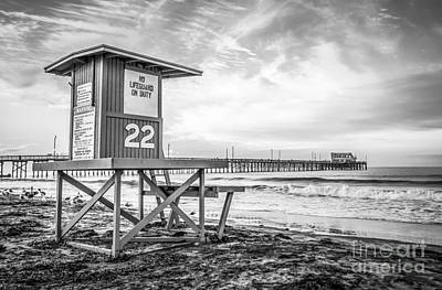 Shack Photograph - Newport Beach Lifeguard Tower 22 Photo by Paul Velgos