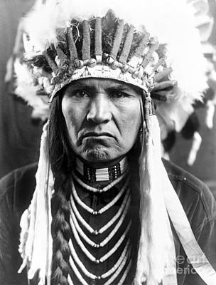 Native American Photograph - Nez Perce Native American by Granger