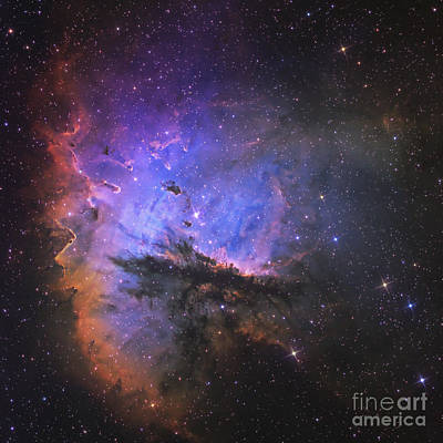 Ngc 281, The Pacman Nebula Print by Don Goldman