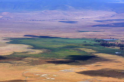 Ngorongoro Crater Tanzania Print by Aidan Moran