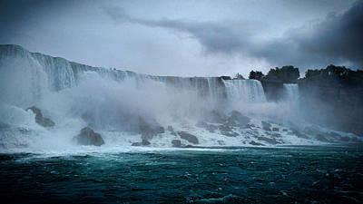 Strong America Photograph - Niagara Falls Canada by Martin Newman
