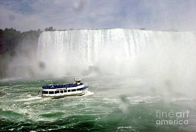 Waterfalls Photograph - Niagra Falls by Anthony Morretta