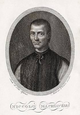 Realist Photograph - Niccolo Machiavelli, Italian Philosopher by Middle Temple Library
