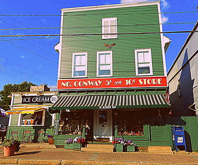 North Conway Photograph - Nickels And Dimes by Karen Cook