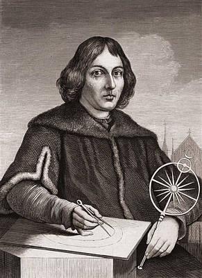 Nicolaus Copernicus Print by American School