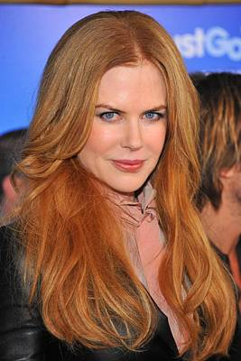 2010s Makeup Photograph - Nicole Kidman At Arrivals For Just Go by Everett