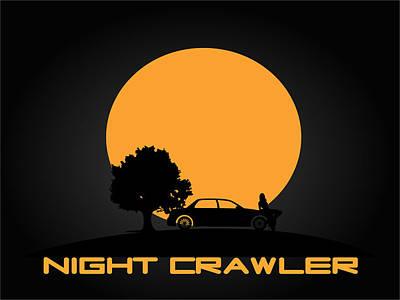 Night Crawler Print by Furqan Sembiring