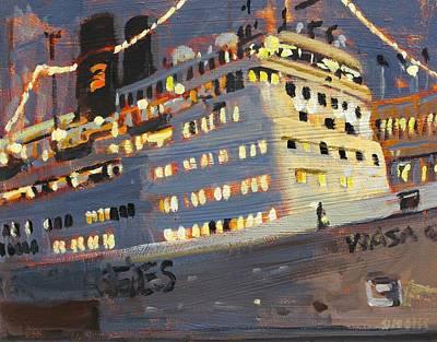 Night Cruise Original by Brian Simons