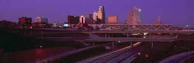 Night, Kansas City, Missouri Print by Panoramic Images
