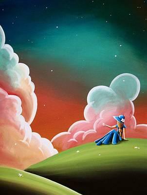 Night Lights Print by Cindy Thornton