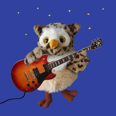 Night Owl Print by Gill Billington