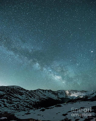 Astro Photograph - Rocky Mountain Magic by Juli Scalzi