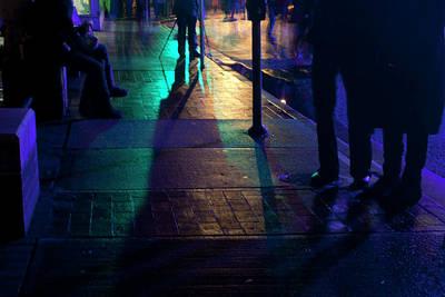 Night Streets Print by Barbara  White