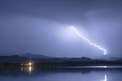 Lightning Images Photograph - Night Strike by James BO  Insogna