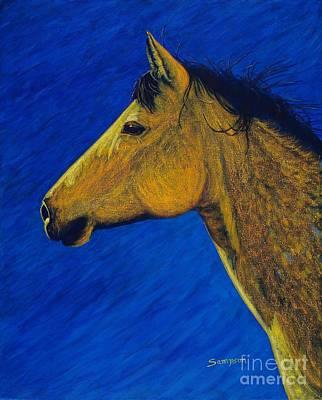 Night Wind Original by Cynthia Sampson