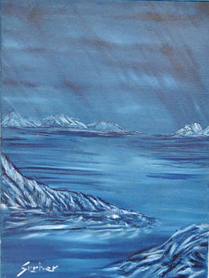 Painting - Night World by Suzanne Surber
