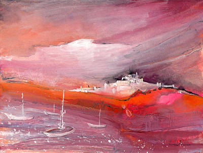 Altea Painting - Nightfall 18 by Miki De Goodaboom