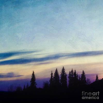 Nightfall Print by Priska Wettstein