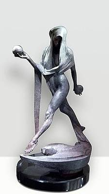 Richard Macdonald Sculpture - Nightfall  by Richard MacDonald