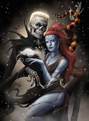 Halloween Digital Art - Nightmare Before Antwoord by Alex Ruiz