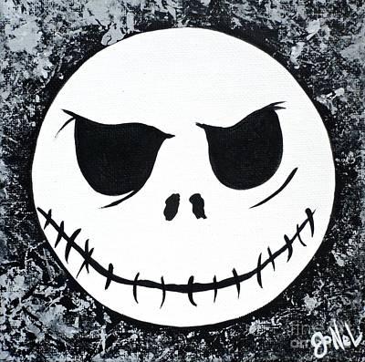 Fandom Painting - Nightmare Head-him by JoNeL Art