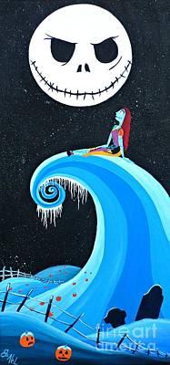 Fandom Painting - Nightmare Love by JoNeL Art