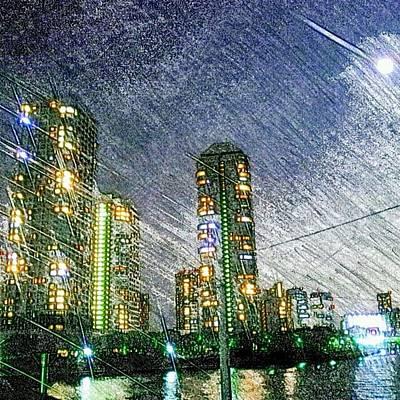 Drawing - Tokyo River by Daisuke Kondo