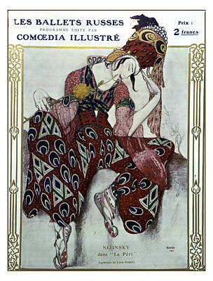 Digital Art - Nijinsky Dans La Peri - Ballets Russes by Sarah Vernon