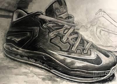 Nike Lebron 10 Low Volt Olive Original by Gary Reising