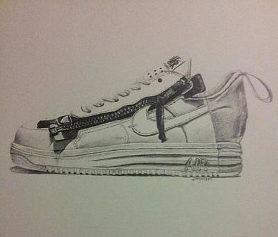 Nikelab Lunar Force 1 X Acronym Print by Dallas Roquemore