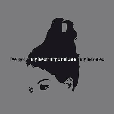 Boobies Digital Art - Nina Simone by Bravo La Fourmi
