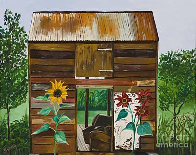 Painting - Nj Barn by Sweta Prasad